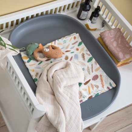 Sebra Commode met changing unit classic white lifestyle