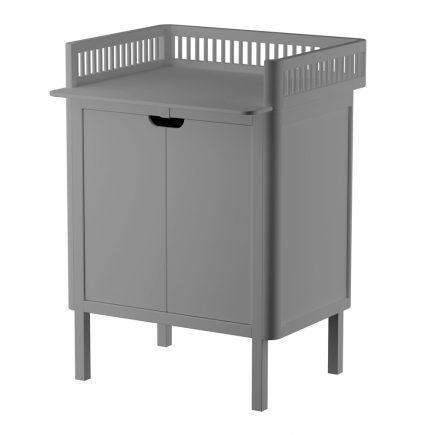 Sebra Commode met changing unit 2 deuren classic grey