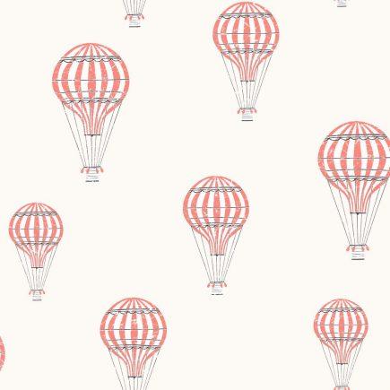 6260 BoråsTapeter Behang kinderkamer Ballong red