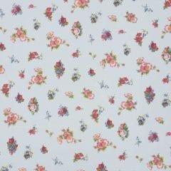 Room Seven - Meisjesbehang Romantic flower pale blue