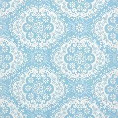 Room Seven - Meisjeskamer behang Dentelle turquoise