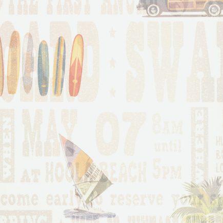 Room Seven   Surf behang beige