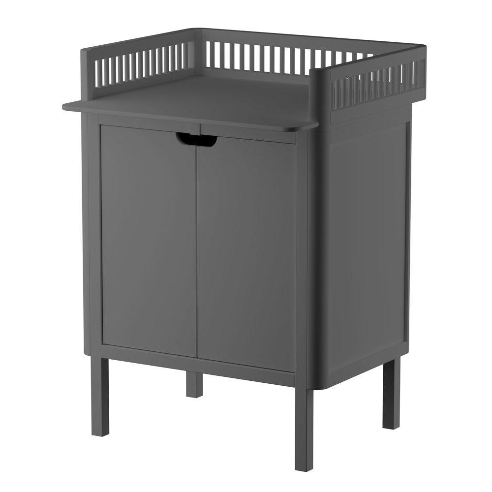 Sebra – Commode met changing unit – 2 deuren – classic grey