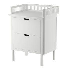 Sebra – Commode met changing unit – 2 lades – classic white