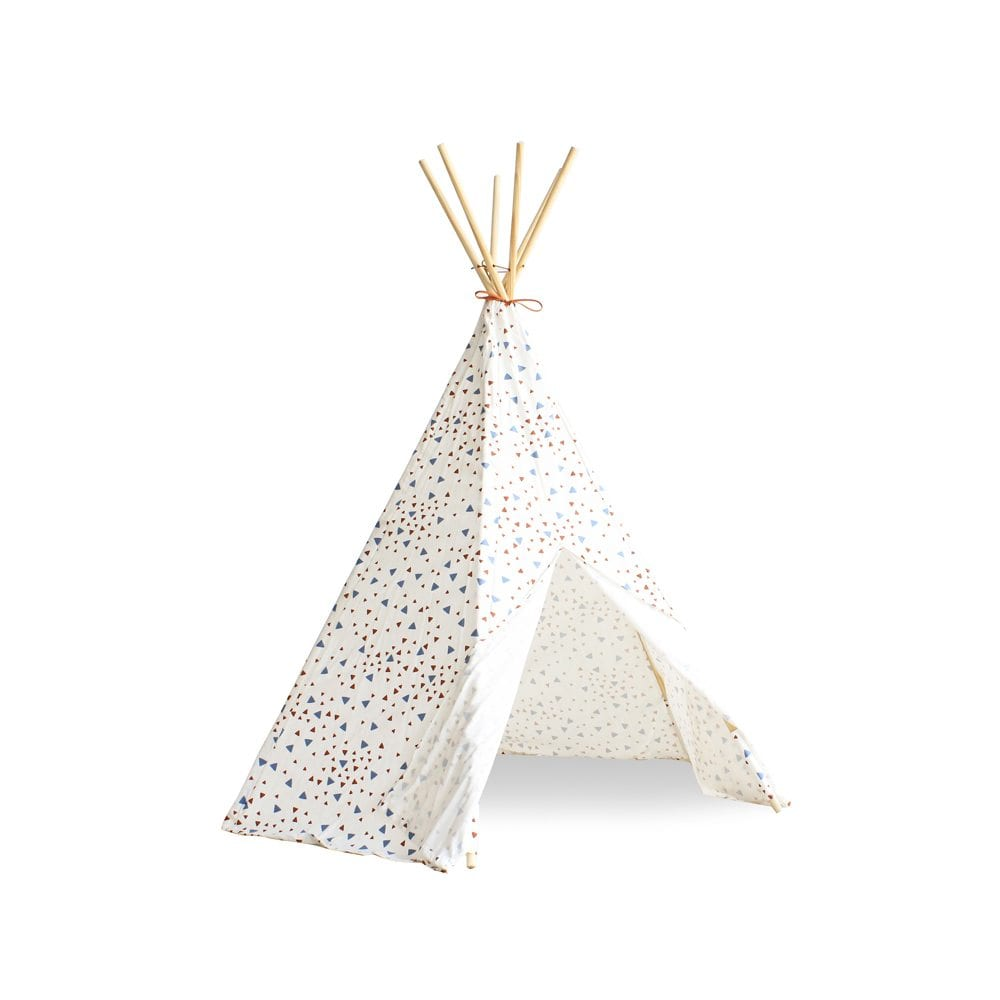 Nobodinoz Kinder tipi Sparks in blue terracotta