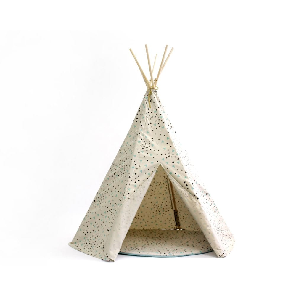 Nobodinoz Kinder tipi Sparks in green black