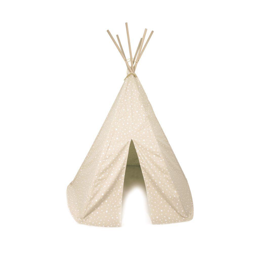 Nobodinoz Kinder tipi Stars in sand white