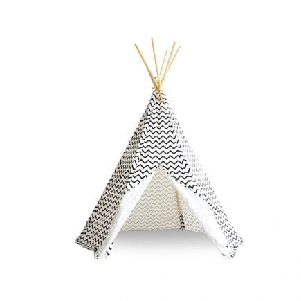 Nobodinoz Kinder tipi Zigzag in black