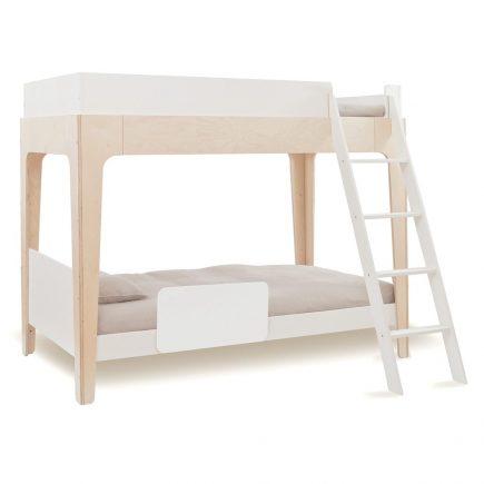 Oeuf NY Bunk bed Perch in birch met antiuitval beveiliging