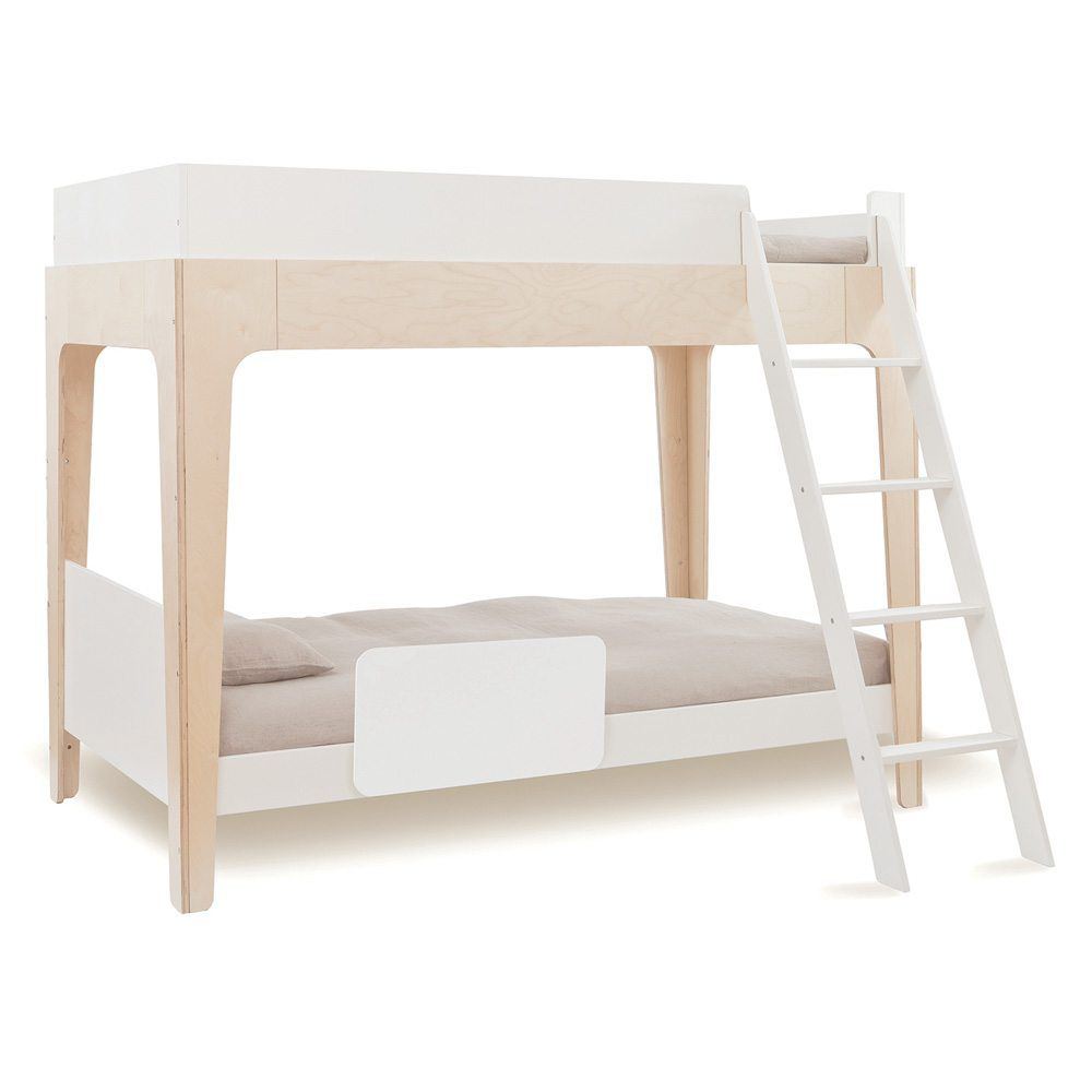Oeuf NY Bunk bed Perch in birch met antiuitval beveiliging