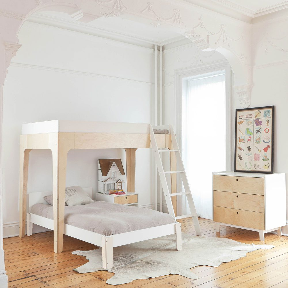 Oeuf NY Bunkbed Perch in birch
