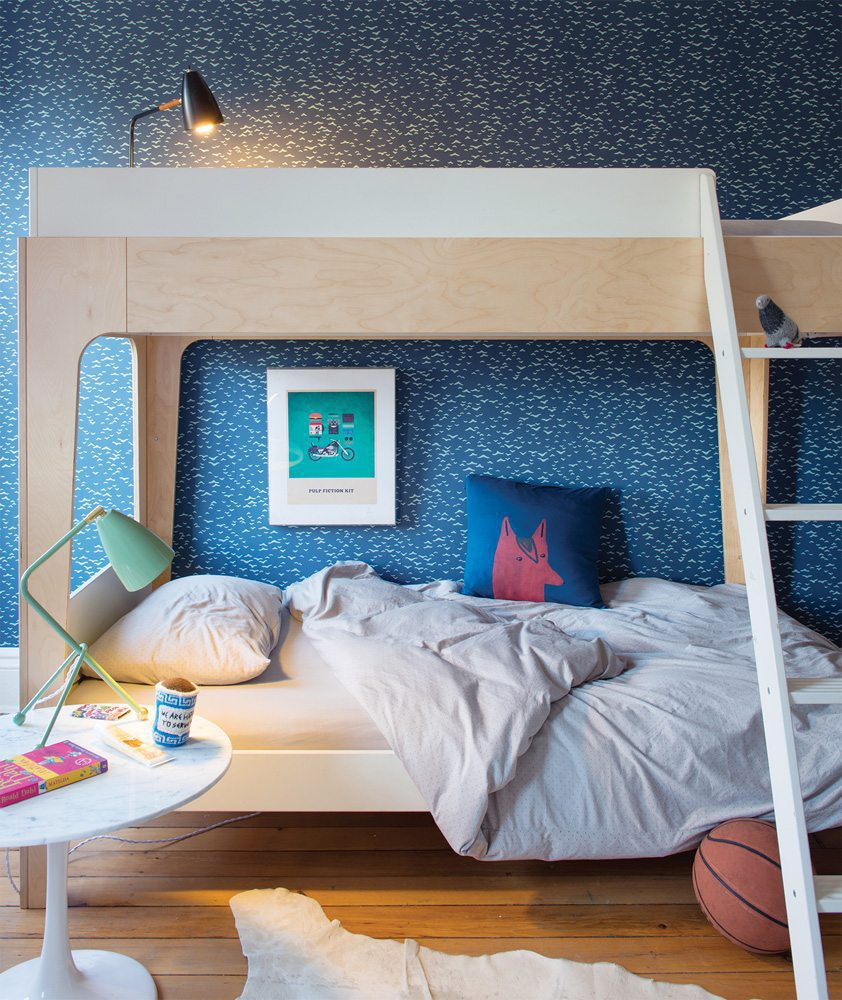 Oeuf NY Bunk bed Perch in birch