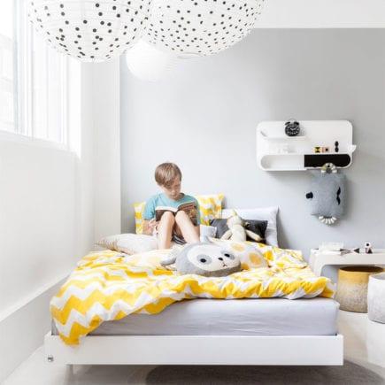 Rafa kids A Teen Bed in white