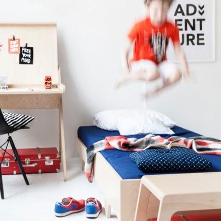 Rafa kids A Teen Bed in whitewash