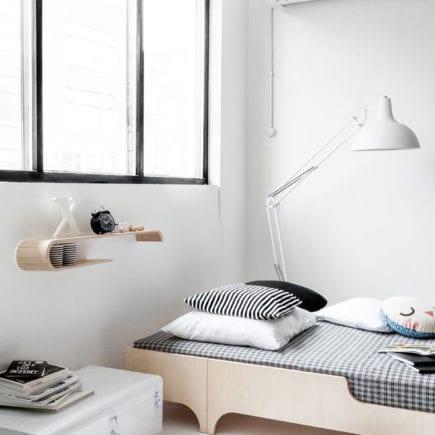 Rafa kids A Teen Bed in whitewash7