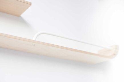 Rafa-kids - XL Shelf met witte stangen - natural
