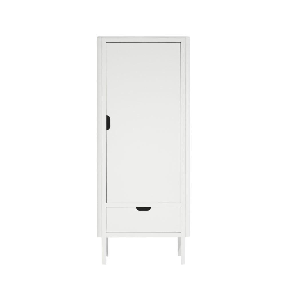 Sebra Kledingkast kinderkamer 1 deur white