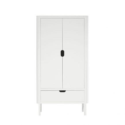 Sebra Kledingkast kinderkamer 2 deuren white