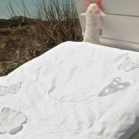Heel Wit – Dekbedovertrek 100 x 135 cm Memo