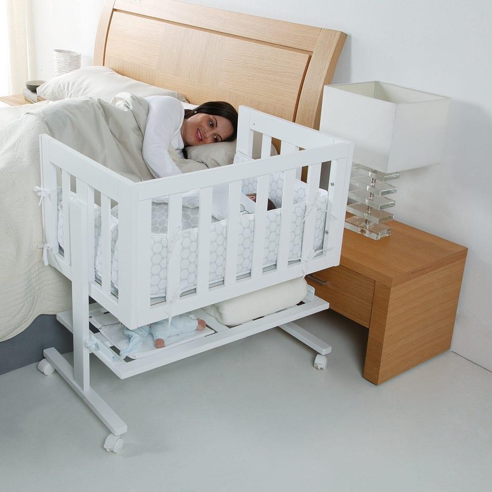 Babybed Aan Bed.Micuna Wiegje Cododo