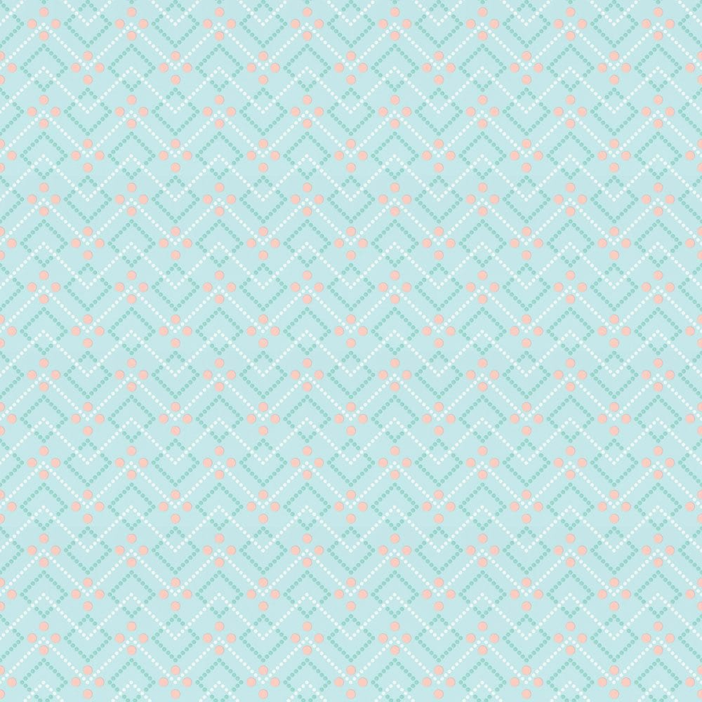 Room Seven – Retro behang Diagonal dot