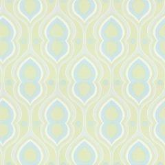Room Seven - Retro behang lime
