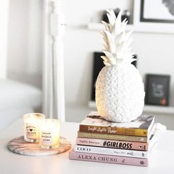 Goodnight Light, Ananas lamp white
