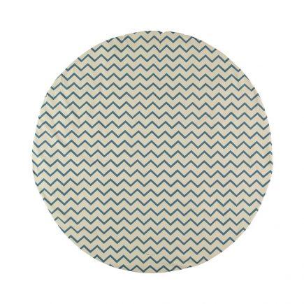 Nobodinoz   Speelkleed Zigzag in blue