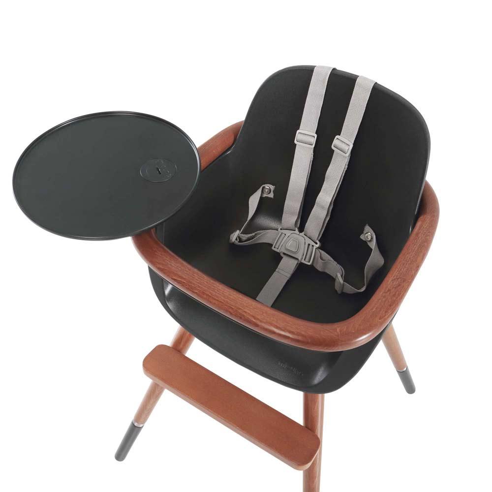 Kinderstoel OVO City polypropyleen tuigje in grey