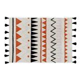 Lorena Canals – Groot vloerkleed – Azteca – 120 x 160 cm – natural vintage terracotta