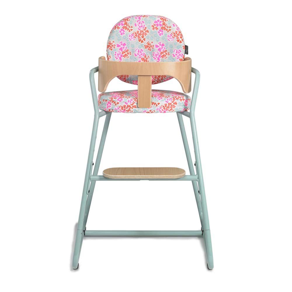 Kinderstoel TIBU blue, zitting in junko grey
