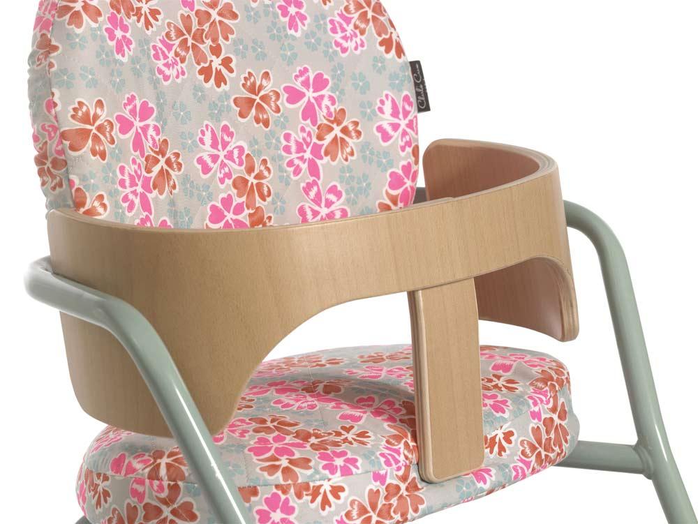 Kinderstoel TIBU blue, zitting in junko grey1