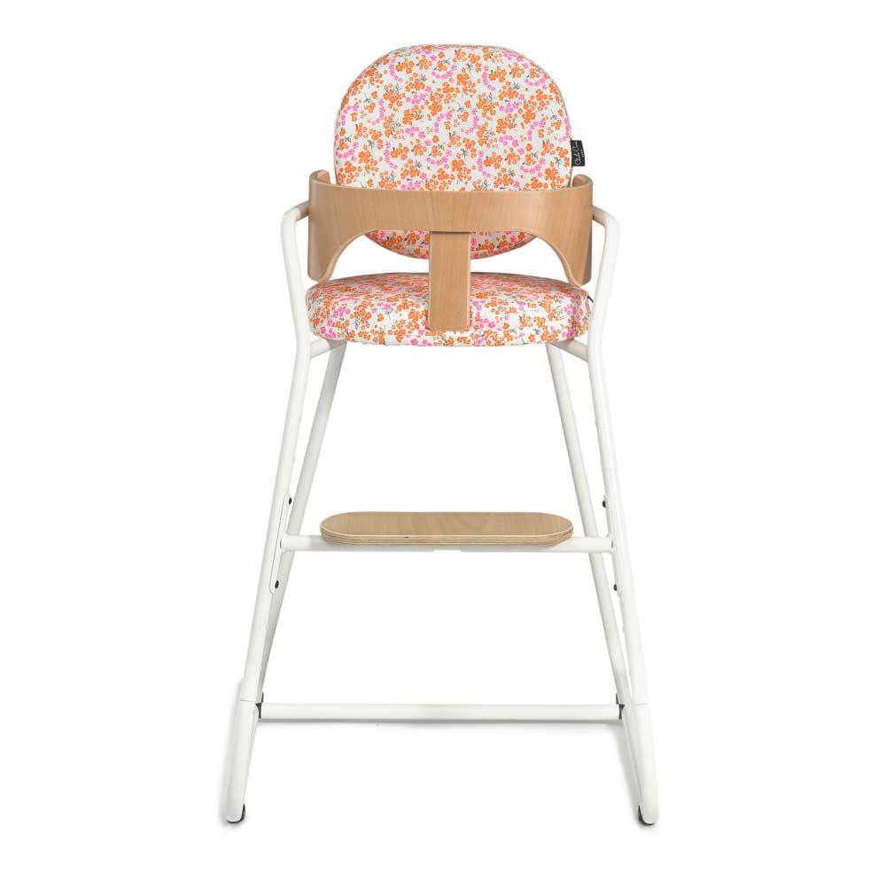 Kinderstoel TIBU white, zitting in hanoko white