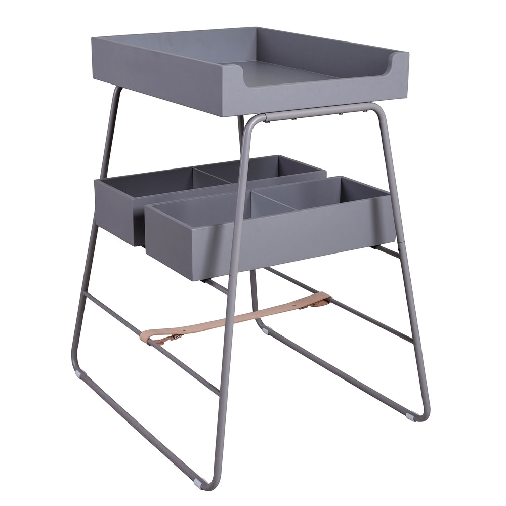 BudtzBendix Changing Tower Commode grey