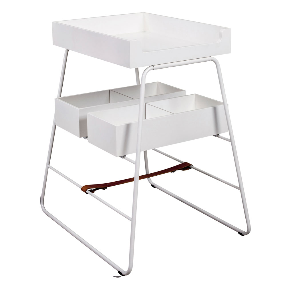 BudtzBendix   Changing Tower   Commode   white