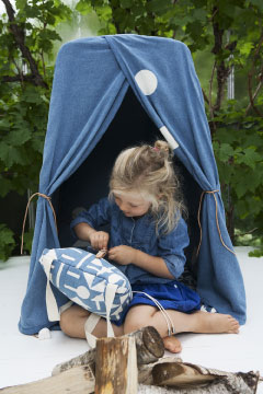 BudtzBendix Changing Tower Tent denim