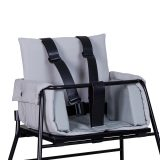 BudtzBendix – Tuigje voor Kinderstoel – Black Leather