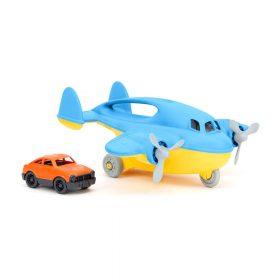 Green Toys – Vrachtvliegtuig Blauw met auto