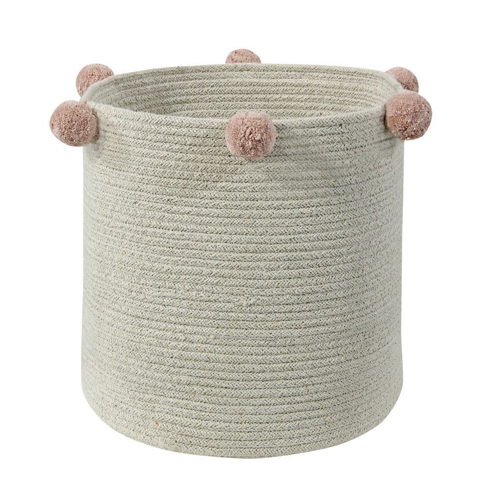 Lorena Canals – Opbergmand – Bubbly – Natural Nude – ø 30 cm