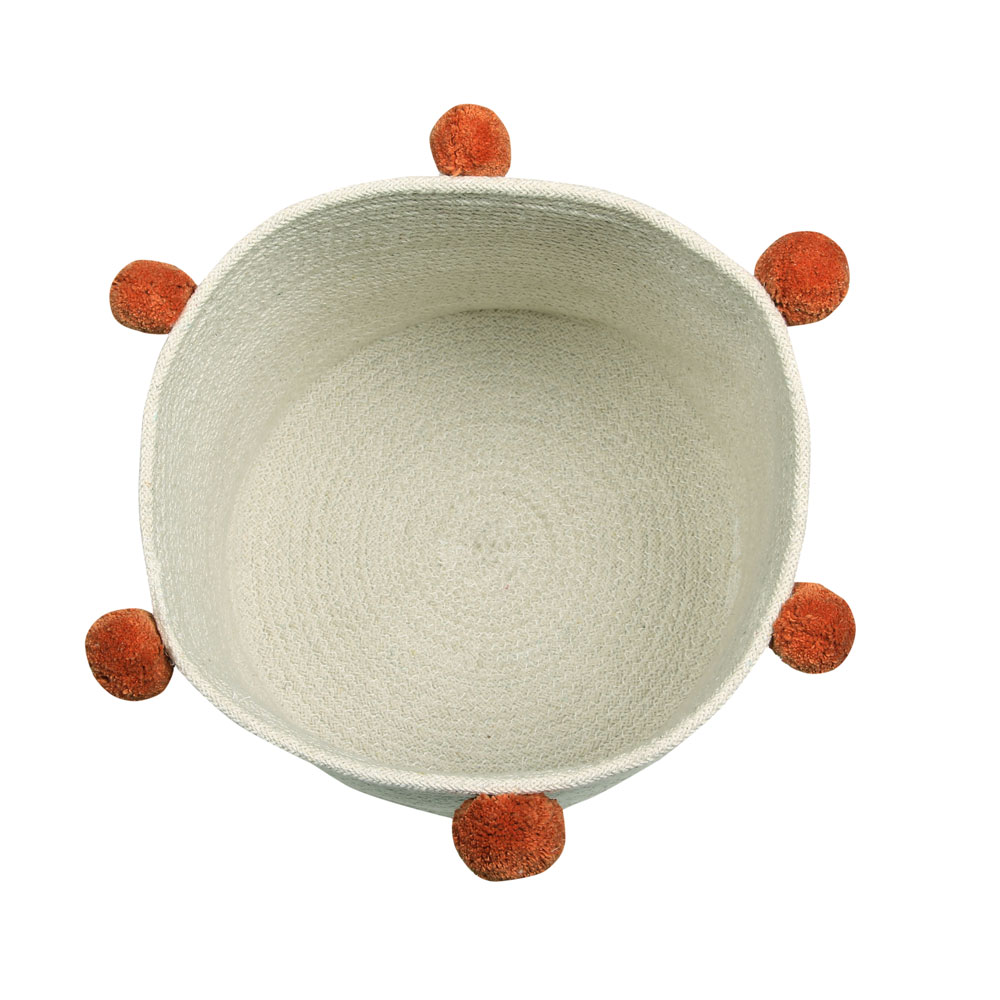 Lorena Canals opbergmand Bubbly 30 x 30 x 30 cm natural terracota