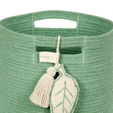 Lorena Canals opbergmand Leaf 30 x 30 x 30 cm green