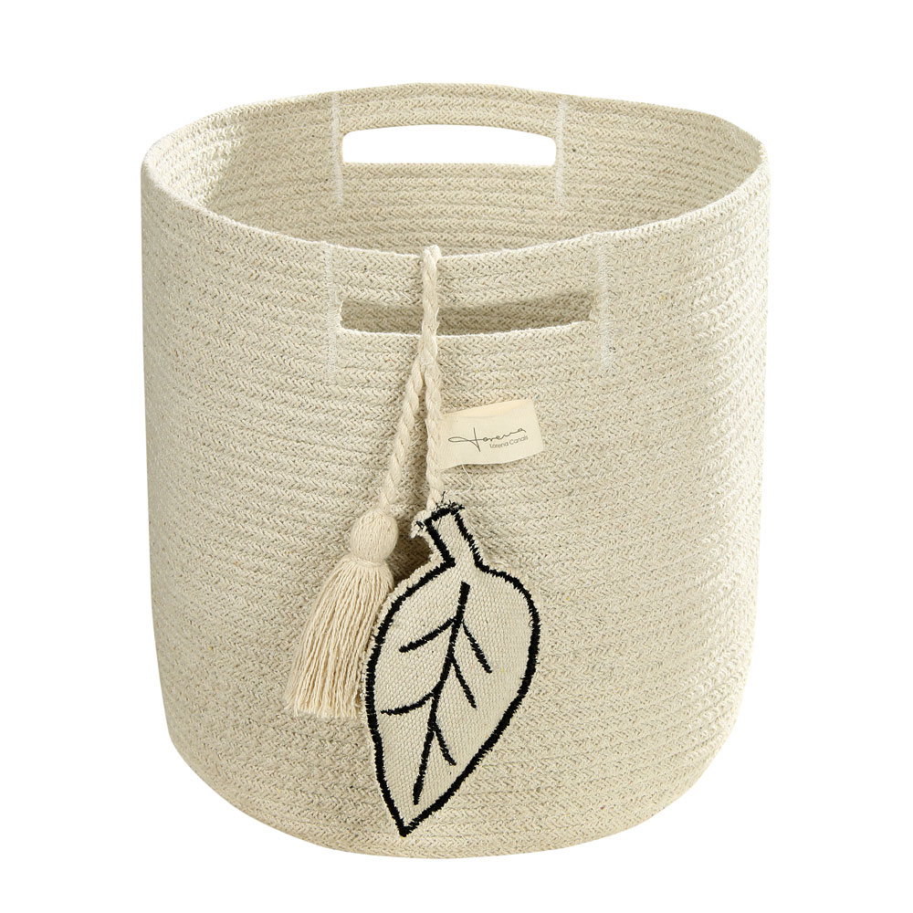 Lorena Canals opbergmand Leaf 30 x 30 x 30 cm natural