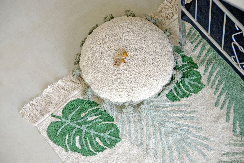 Lorena Canals sierkussens Circle 48 cm green