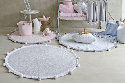 Lorena Canals speelkleed Bubbly 120 cm grey