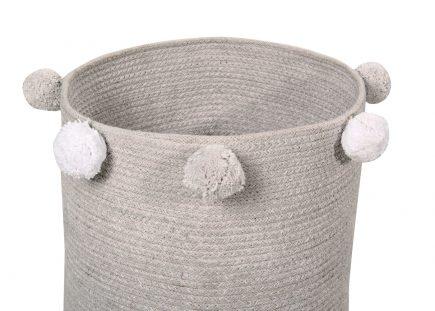 Lorena Canals toy bag Bebé Bubbly 30 x 30 x 30 cm grey