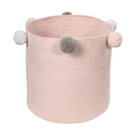 Lorena Canals toy bag Bebé Bubbly 30 x 30 x 30 cm pink