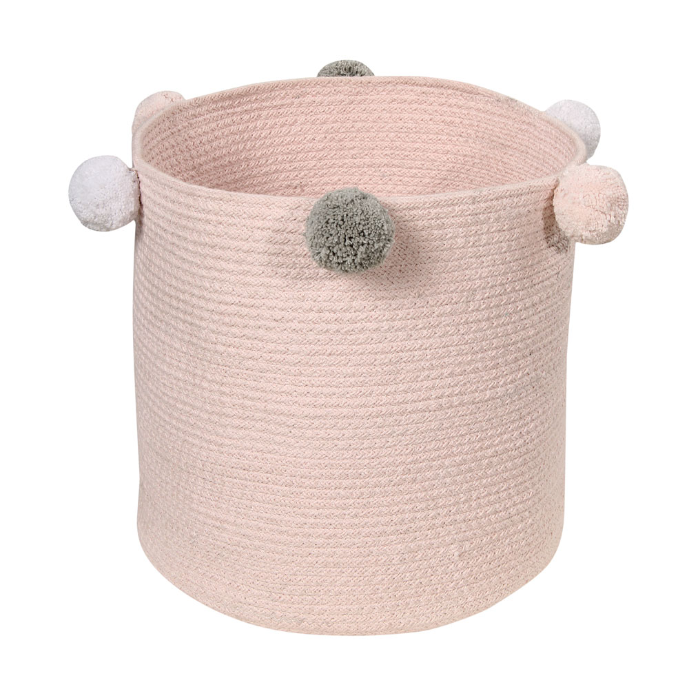 Lorena Canals toy bag Bebé Bubbly 30 x 30 x 30 cm pink