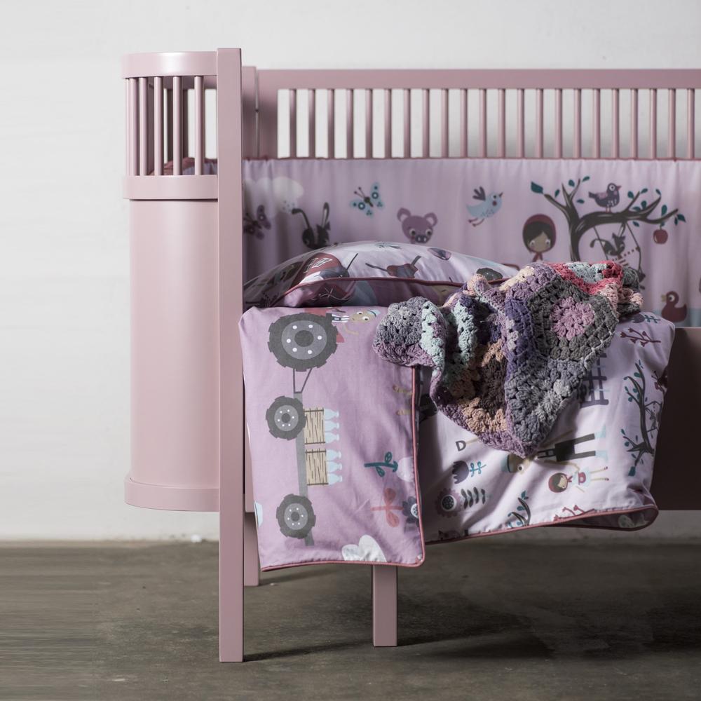 Sebra babybedje Kili nieuw model in vintage rose