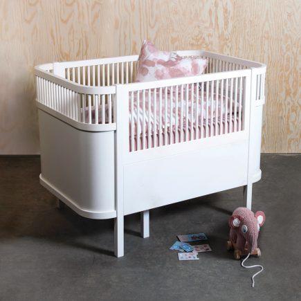 Sebra babybedje Kili nieuw model in white