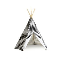 Nobodinoz Kinder tipi Diamonds in black